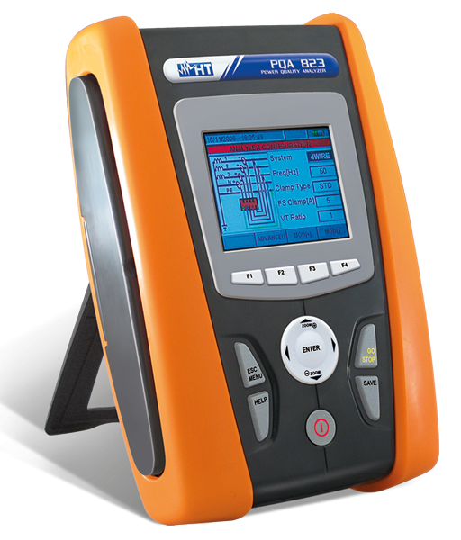 HT Instruments PQA823 Power quality analyzer