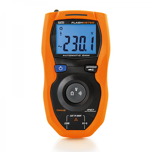 HT Instruments Flashmeter Waterproof TRMS Multimeter CAT IV