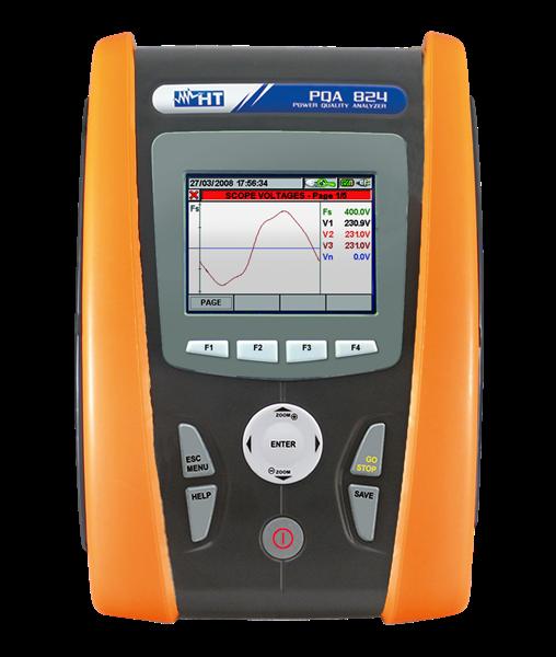 HT Instruments PQA824 Power quality analyze