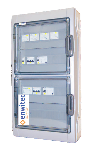enwitec Metering Switchbox-s for Sunny Island 3Phasig