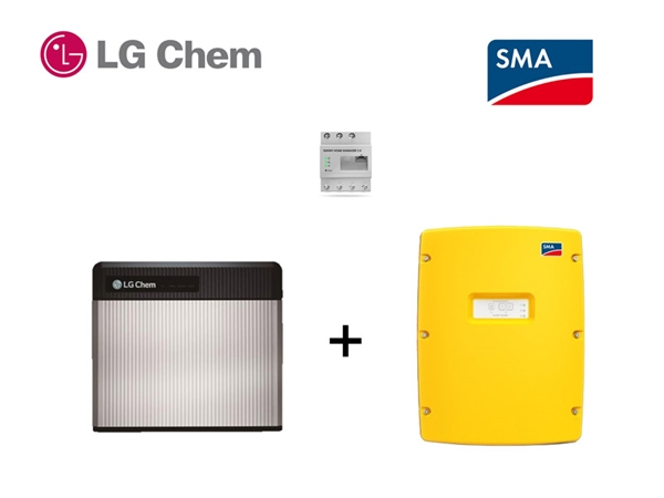 SMA SI 4.4 LG RESU 3.3 battery storage set 3,3 kWh
