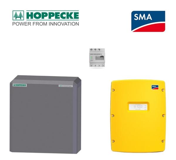 SMA SI 4.4 Hoppecke sun powerpack classic 8.0 kWh battery storage set