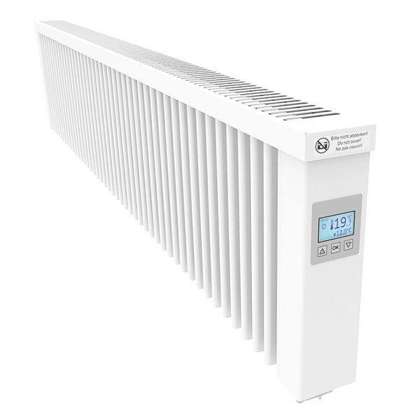 Thermotec AeroFlow® electric radiators SLIM 2000 with FlexiSmart-Controller