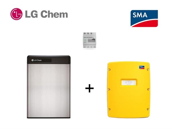 SMA SI 4.4 LG RESU 6.5 battery storage set 6,5 kWh