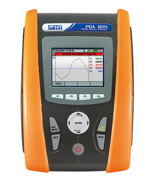 HT Instruments PQA824 Power quality analyze