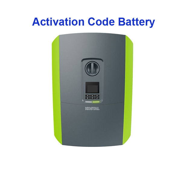 Kostal Activation code Battery for KOSTAL PLENTICORE