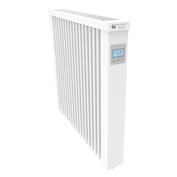 Thermotec AeroFlow® electric radiators COMPACT 1300 with FlexiSmart-Controller
