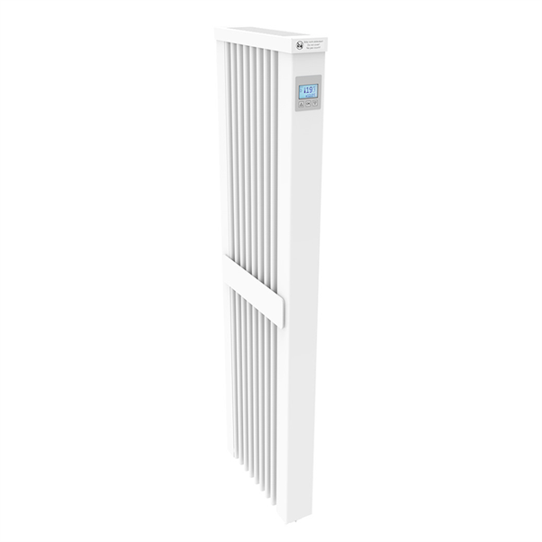 Thermotec AeroFlow®electric radiators SLIM TALL 1600 with FlexiSmart-Controller