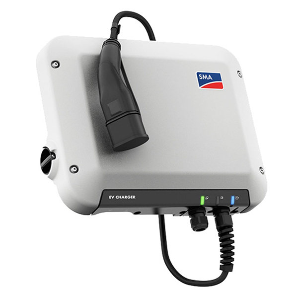 SMA EV Charger 7.4 Wallbox with 5.0m charging cable